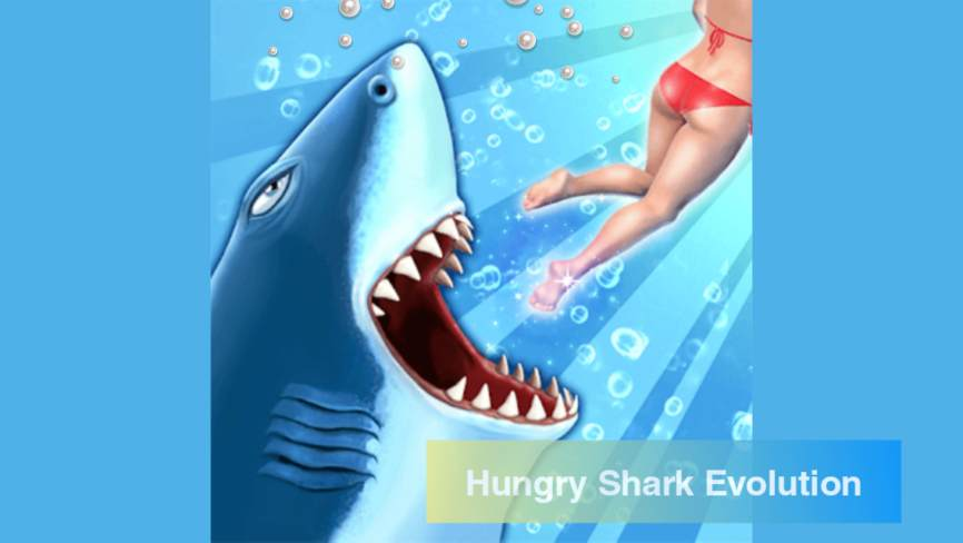 Hungry Shark Evolution Mod Apk (Unlimited Coins) Download 2021