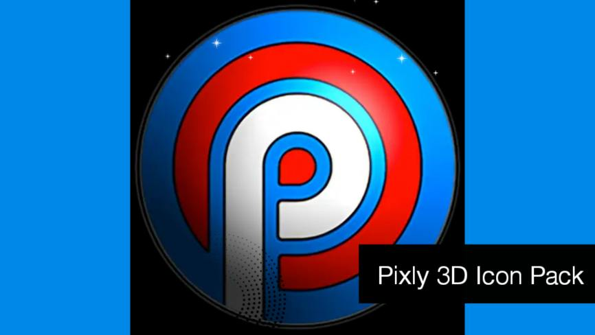 Pixly 3D Icon Pack v2.5.7 APK Patched (Paid) free Download